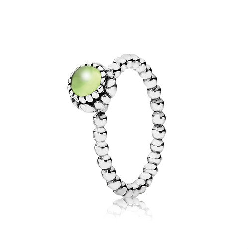 2018 Pandora August Birthstone ring 190854PE