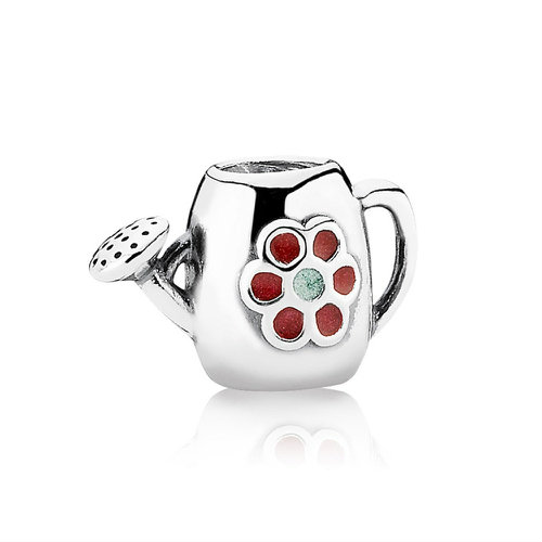 2018 Pandora Blooming Watering Can Charm 791090EN43