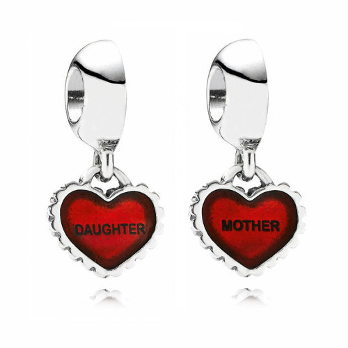 2018 Pandora Mother & Daughter Pendant Cwound  790950EN27