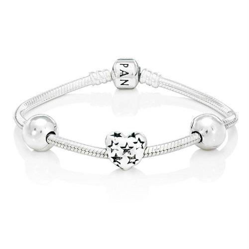 2018 Pandora Starry Heart Bundle B800044