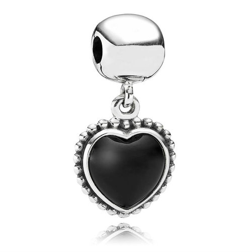 2018 Pandora Statement Heart Pendant Clip 791046ON